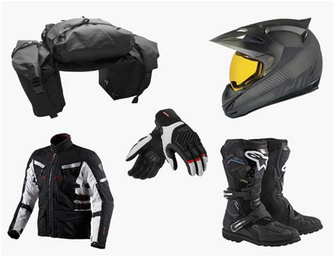 motorcycle equipment essential gear for adventure motorcycle riders gear patrol