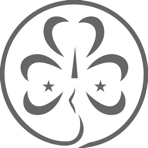 Girl Scout Trefoil Image   Free download best Girl Scout ...