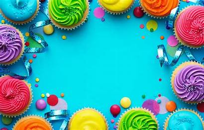Birthday Happy Rainbow Wallpapers Colorful Cake Decoration