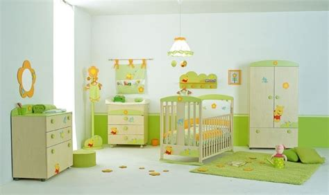 idée décoration chambre bébé idee deco chambre bebe winnie l ourson visuel 5