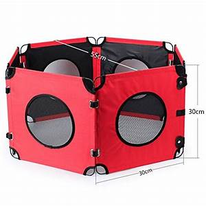 clothingtalks playpen foldable adjustable milti shape With adjustable dog crate