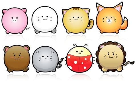 cute animals vector  yurike  deviantart