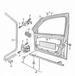 Volkswagen Jetta Door Hinge