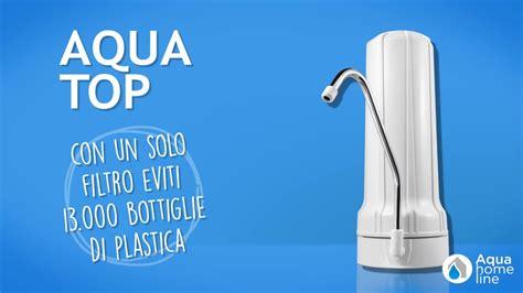 purificare acqua rubinetto aqua top filtro collegabile al rubinetto di casa per