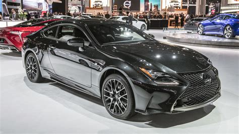 lexus rc coupe black  special edition limited