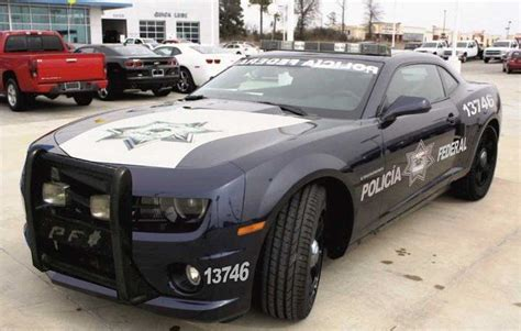 Mexico Police Chevy Camaro.