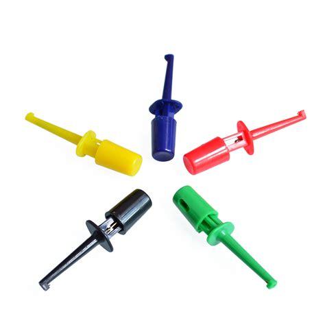 Pcs Multimeter Lead Wire Kit Test Hook Clip