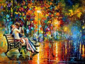 Best Christmas Tree Type For Cats by Leonid Afremov Oil On Canvas Palette Knife Buy Original