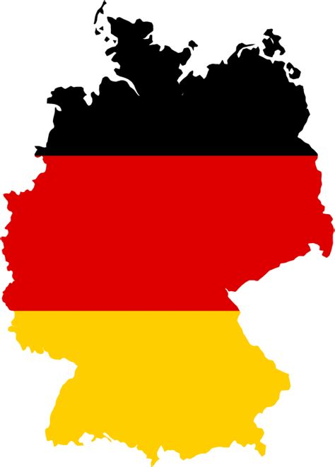 A collection of geography pages, printouts, and activities for students. File:Flag-map of Germany.svg - Wikimedia Commons