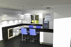 Plan De Cuisine 3d : plan 3d cuisine beautiful cuisine with plan 3d cuisine ~ Nature-et-papiers.com Idées de Décoration