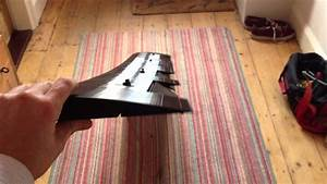 3d printed plane wing with ailerons and flaps 2 metres