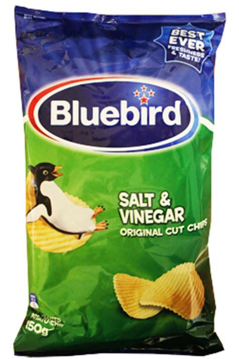 bluebird salt vinegar chips chips from new zealand