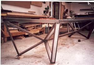 Welded Furniture on Pinterest Furniture, Wood End Tables