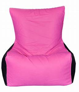 Buy, 1, Get, 1, Free, -, Filled, Bean, Bag, Chair, Xxl, Pink, And, Black, Filled