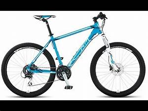 KTM Chicago Hard Tail Mountain Bike Neon Candy Blue