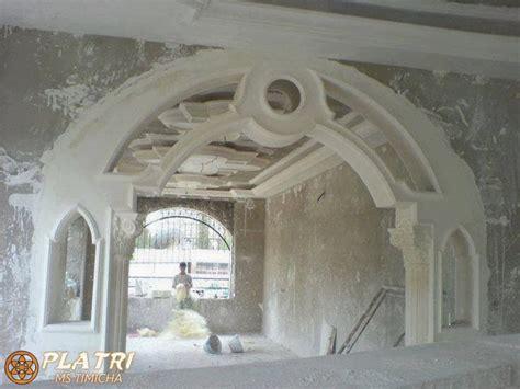decoration platre chambre arches platre maroc platre5