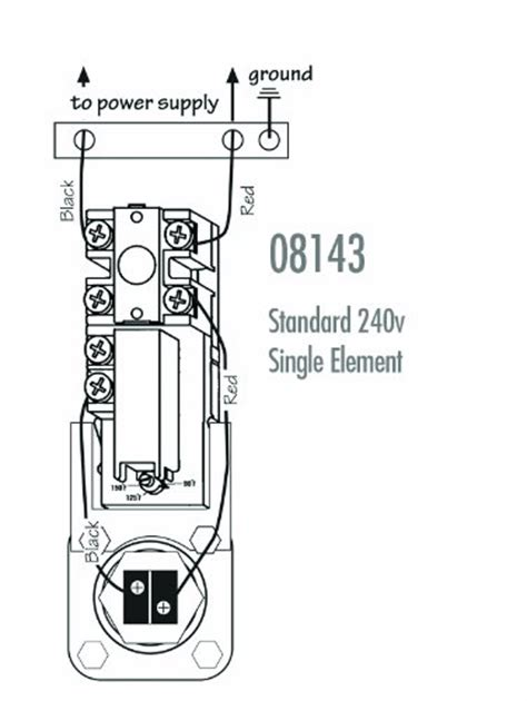 Therm O Disc Wiring Diagram by Camco 08147 Single Element Water Heater Thermostat