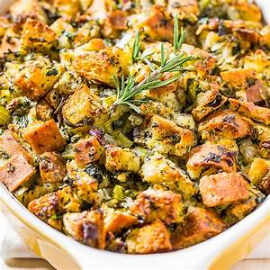 Classic Traditional Thanksgiving Stuffing Averie Cooks