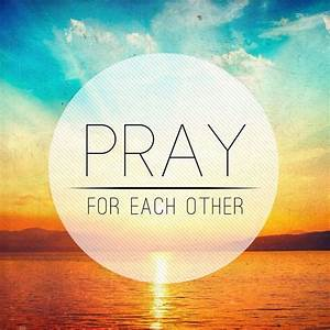 Pray For Each Other - Pocket Fuel