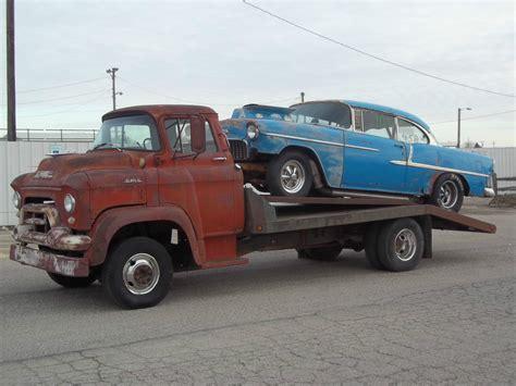 truck car 1957 gmc coe cabover ratrod gasser car hauler 1955 1956