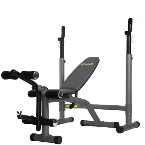 Body Champ Olympic Weight Bench With Leg Developer