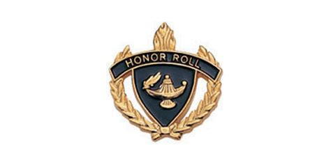 Honor Roll Torch & Wreath Pin