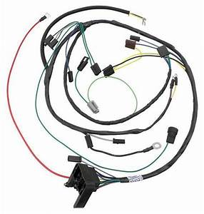 1967 Pontiac Gto Wiring Harness 6 Cyl With Transistor Ignition