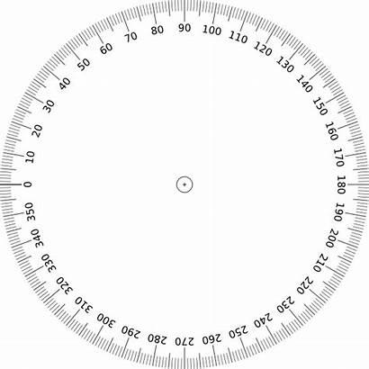 Degree 360 Protractor Circle Angle Degrees Printable