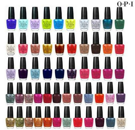 opi color chart is opi nail the best