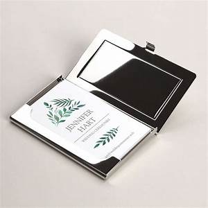Business card holders metal business card holders for Vistaprint business card holder