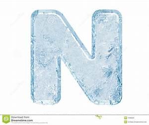 Ice Font Stock Photos - Image: 7636503