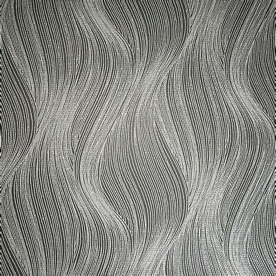 textured wavy lines modern wallpaper black gray silver