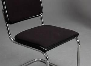 Freischwinger Stühle Klassiker : thonet s32 freischwinger bauhaus klassiker st hle schwarz breuer chairs top ebay ~ Indierocktalk.com Haus und Dekorationen