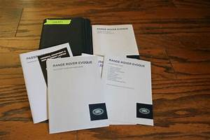 2014 Land Rover Evoque Owners Manual With Case Lan533