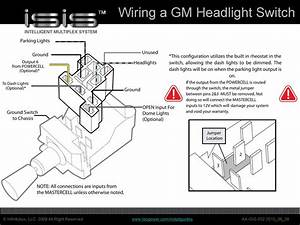 Chevrolet Headlight Switch Wiring