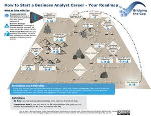 Business Analyst Career Path Map