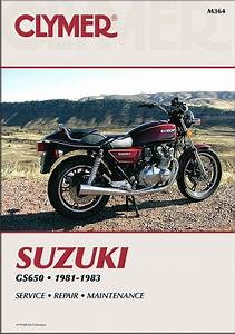 Suzuki Gs650 4-cylinder Repair Manual 1981-1983