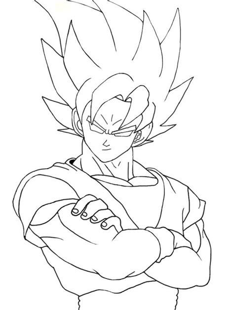 Dibujo de Goku on Behance