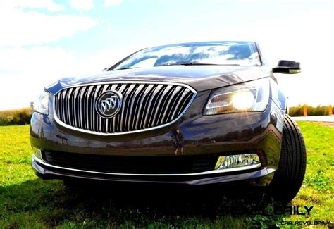 driven car review  buick lacrosse  huge smooth