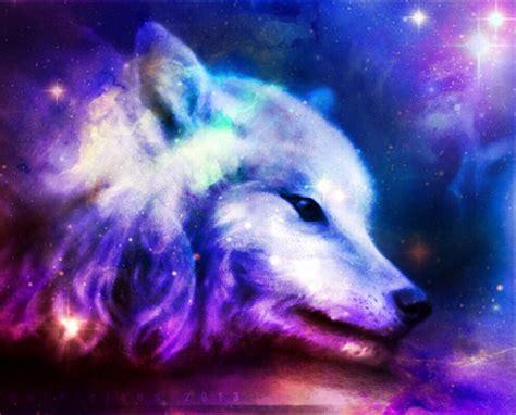 Galaxy Wolf Wallpaper by Cool Wolf Edit Galaxy Galaxywolf Myedit Freetoedit Remi
