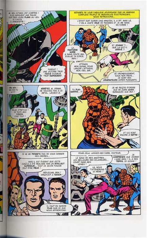 avis bd comics fantastic four l int 233 grale tome 5 1966