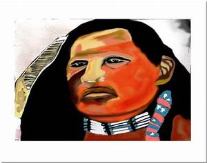 Will Sampson. Painting by Turtle Heart, Ojibway American ...