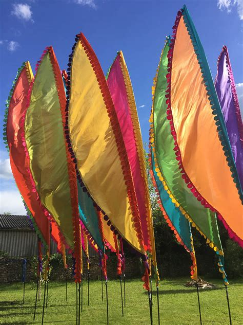 wedding festival flags competition event flag hire