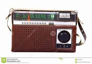 Old Radio Stock Image  Image Of Background  Music  White