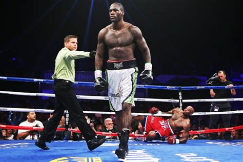 deontay wilder body measurements  height weight