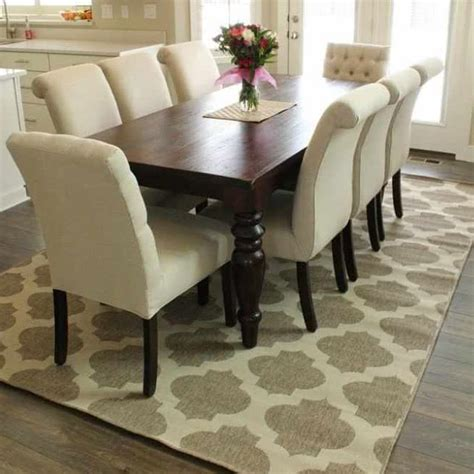 kid friendly dining table rugs