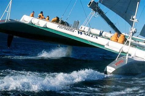 Catamaran Around The World by Two Hulls Around The World Mega Catamarans