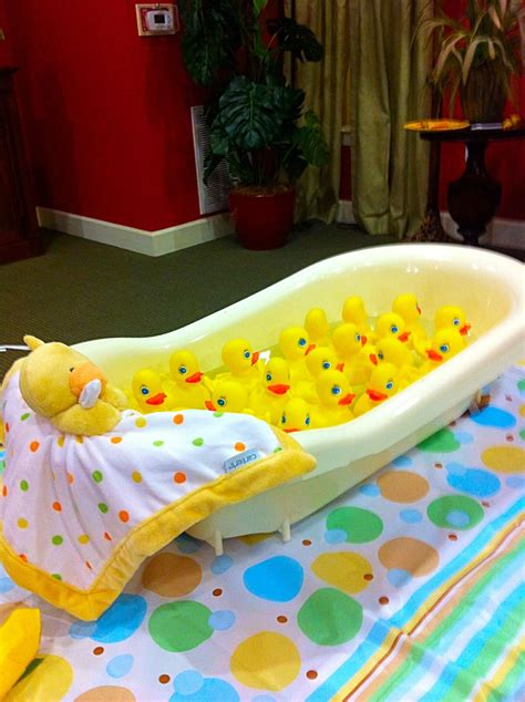 "Game Duck Bobbing  ""waddle It Be"" Duckling Baby Shower"