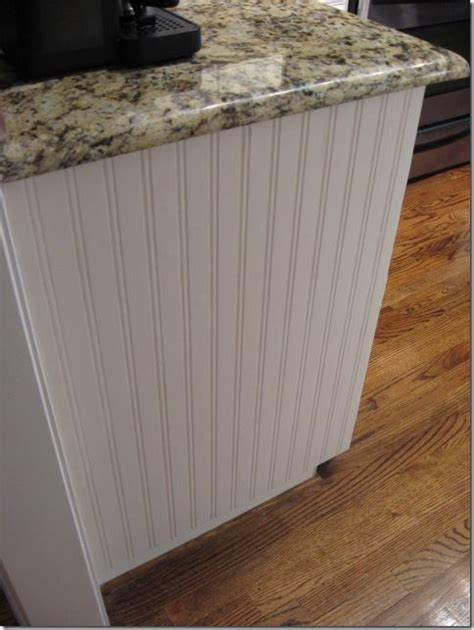 Beadboard Wallpaper Project  Cabinets, Islands And Tutorials