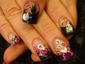 Nail art halloween class